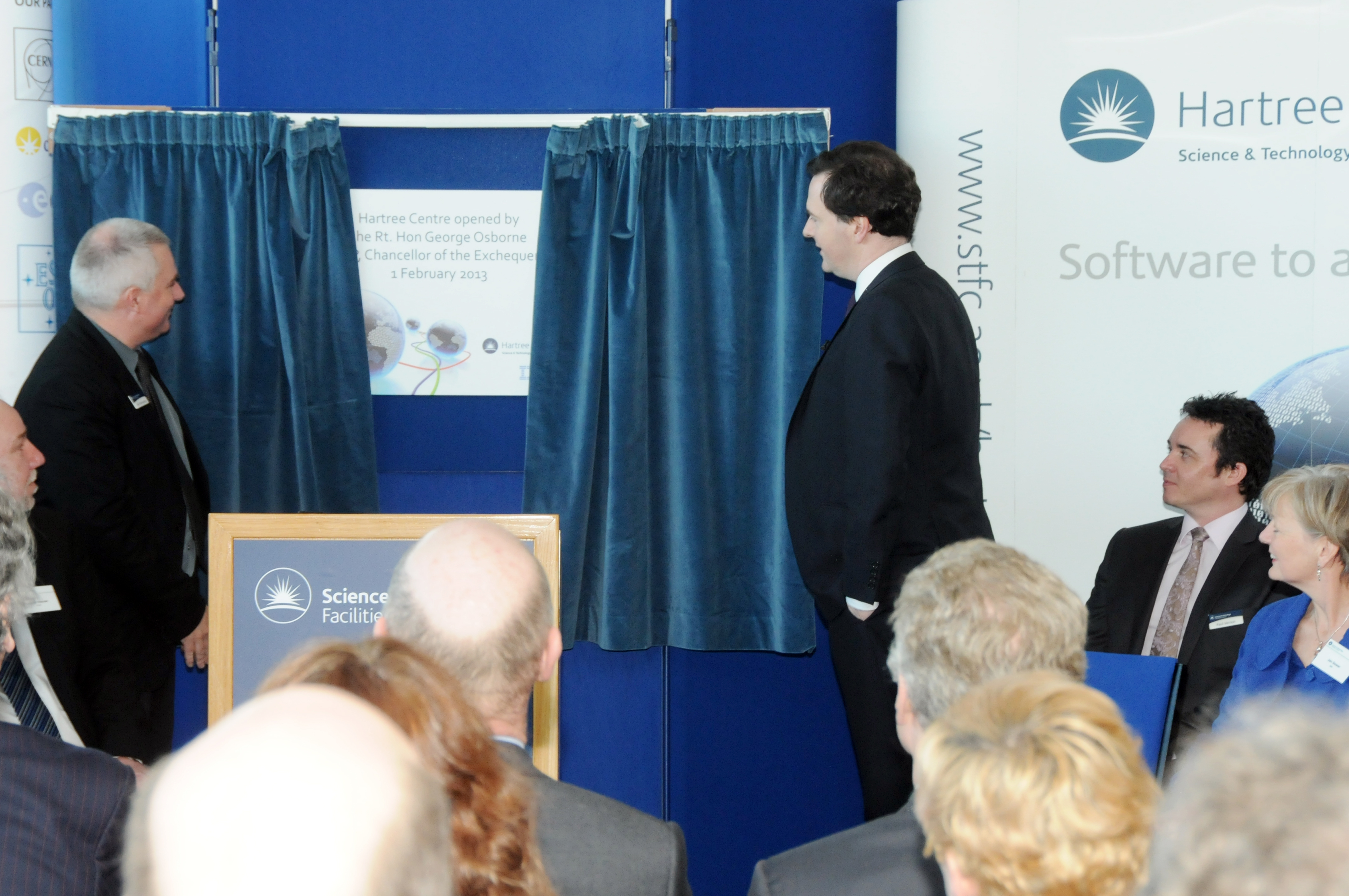 Official opening of the Hartree Centre
